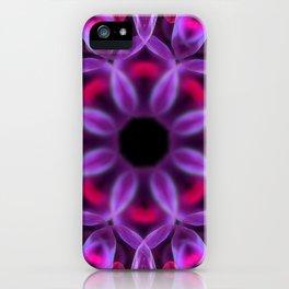 Violet Mandala for Healing iPhone Case