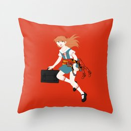 02 Asuka Langley Soryu Throw Pillow