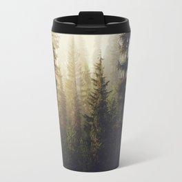 Sunrise Forest Travel Mug