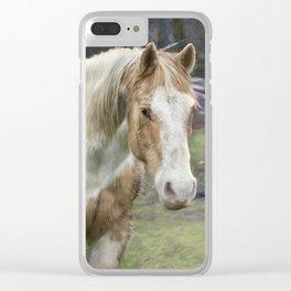Tripper and Dakota Clear iPhone Case