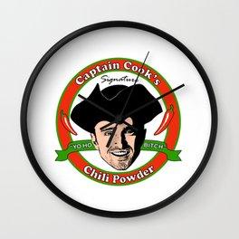 Captain 'Cook' Wall Clock