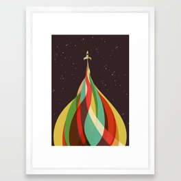 Kaleidoscope to the Stars Framed Art Print