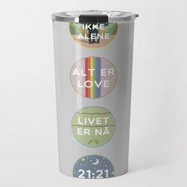 EVAK: A MINIMALIST LOVE STORY VOL. II Travel Mug