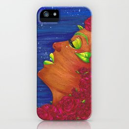 The Night's Rose iPhone Case