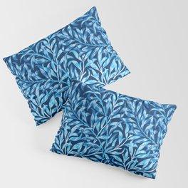 William Morris Willow Bough, Cobalt and Navy Blue Pillow Sham
