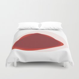 Pink Slips Duvet Cover