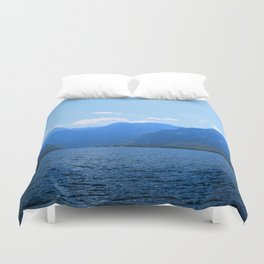 Koenigssee Lake with Alpes Mountains 2 on #Society6 Duvet Cover