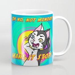 Niels Feynman   Erwin hates Mondays Coffee Mug