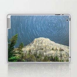 Star Trail Sky Laptop & iPad Skin
