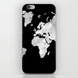 Design 70 world map iPhone Skin