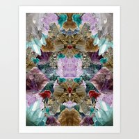 crystal Art Prints featuring Crystal by Joanna Tadger