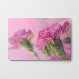 """""""Blushing Blooms"""" Metal Print"""