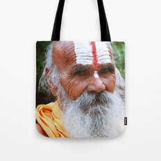 Saint smile Tote Bag