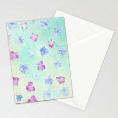 hydrangea petals Stationery Cards