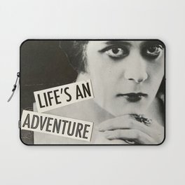 Life's an Adventure Laptop Sleeve