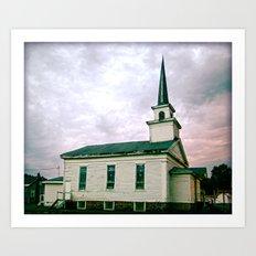 Church 2 Art Print