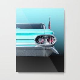 US American classic car 1961 Sedan Deville Metal Print