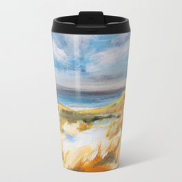 The Dunes in Ostend Travel Mug