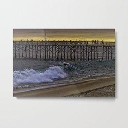 Balboa Surf Metal Print
