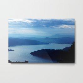 Lac d'Annecy Metal Print