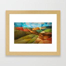 Schnebly Hill, Sedona Framed Art Print