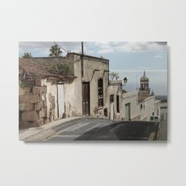Old Canary Islands Road Metal Print
