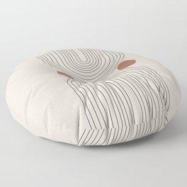 Modern Minimalistic Art Floor Pillow