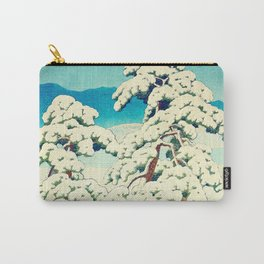A Morning in the Snow Carry-All Pouch