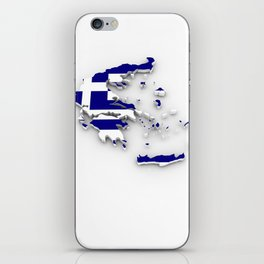 GREECE LOVE iPhone Skin