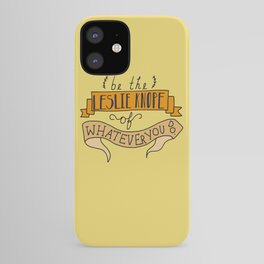 Leslie Knope, Yellow iPhone Case