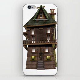 The Wood Cutter's House iPhone Skin