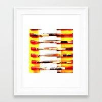 kit king Framed Art Prints featuring Eyeglasses Kit by Jeffrey J. Irwin