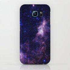 gAlAXY Purple Blue Galaxy S8 Slim Case