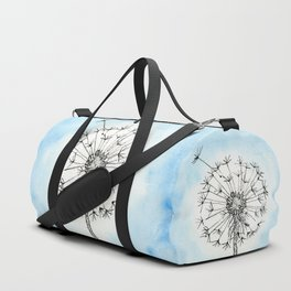 Dandelion Waiting for a Breeze Duffle Bag