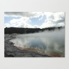 champagne pool. Canvas Print