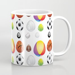 Easter sport balls Coffee Mug