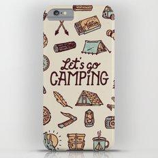 Lets Go Camping iPhone 6s Plus Slim Case