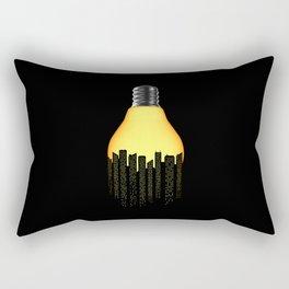 Bright Light Big City Rectangular Pillow