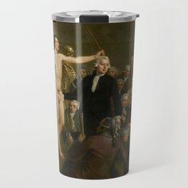 Lecture on anatomy, Professor Andreas Bonn by Adriaan de Lelie, 1792 Travel Mug
