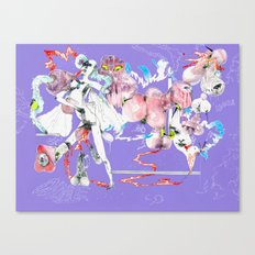 ONLY POSSESSED GIRLS DIDDLE Canvas Print