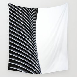 Abstract Architecture Curves Wall Tapestry