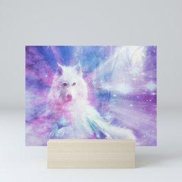 Majestic Wolf Mini Art Print