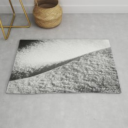 Abstract Snow Drift II - 105/365 Nature Photography Rug