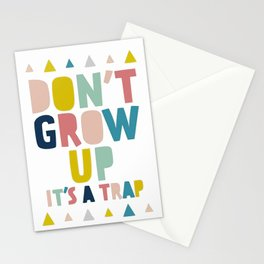 Baby, don't grow up Stationery Cards