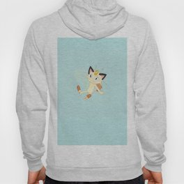 Scratch cat with golden charm Hoody
