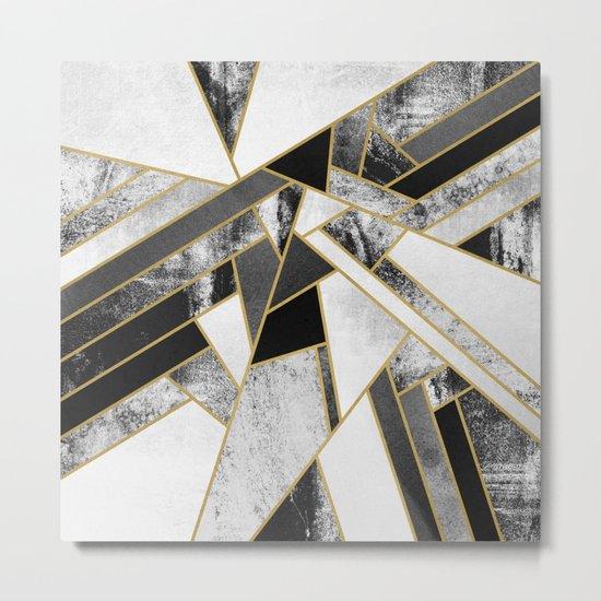 Fragments Metal Print