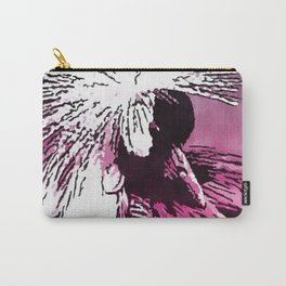 Grey-Crested Crane Carry-All Pouch