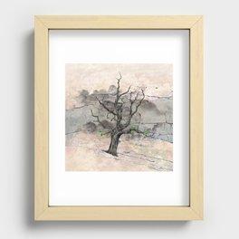 Jake's Tree Recessed Framed Print