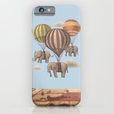 Flight of the Elephants - colour option iPhone 6 Slim Case