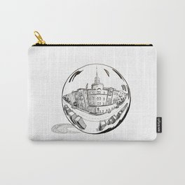 City in a glass ball . Art Carry-All Pouch